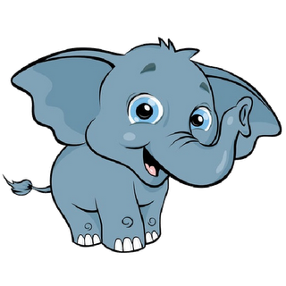 Clipart elephant. Baby