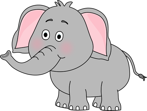 Cute car clip art. Elephants clipart