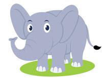 Free elephant clip art. Elephants clipart