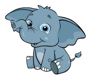 Free animals cliparts download. Clipart elephant baby animal