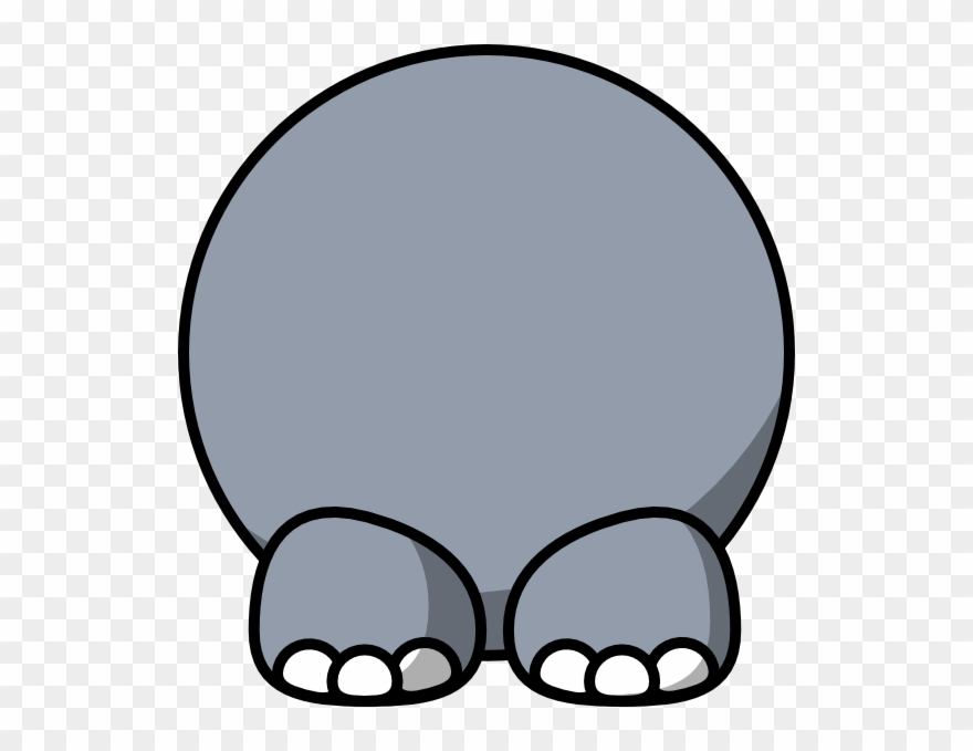 Cartoon hippo png download. Clipart elephant body