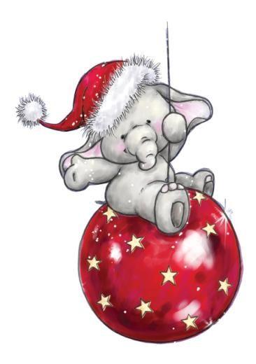 Free santa cliparts download. Clipart elephant christmas