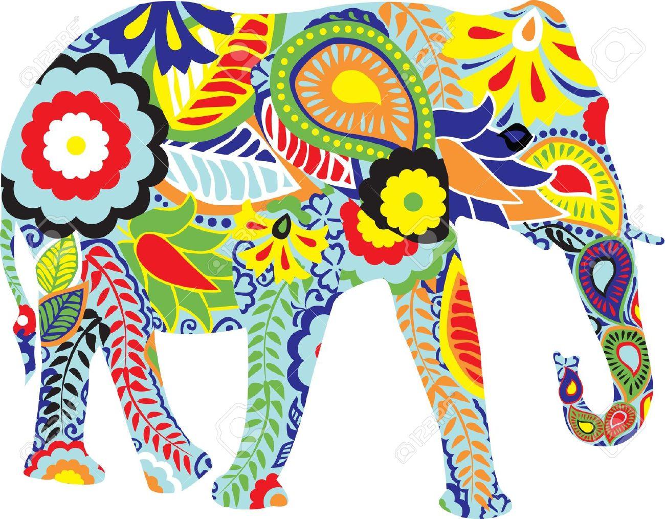 Free india design cliparts. Clipart elephant designer