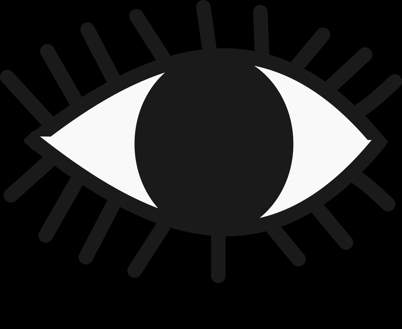 clipart eye evil