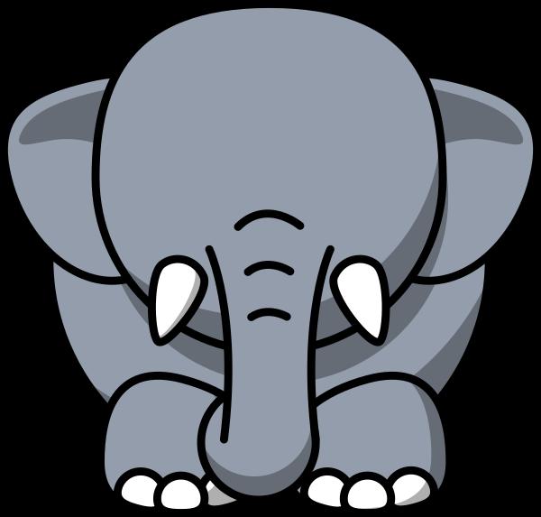 No eyes clip art. Clipart tiger elephant