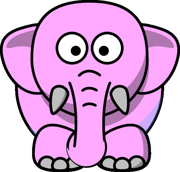 Image of head clip. Clipart elephant face
