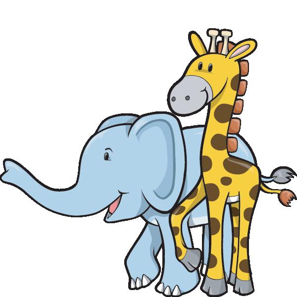 Our programs bright light. Clipart elephant giraffe