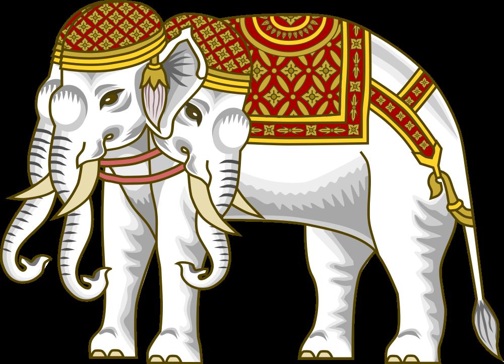 God clipart elephant. File airavata svg wikimedia