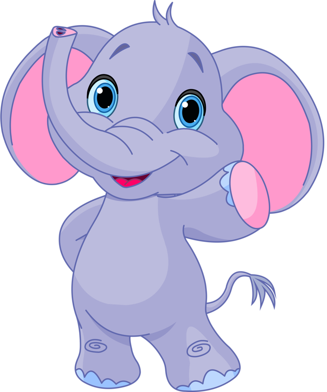 Kids clipart animal.  super elephant png