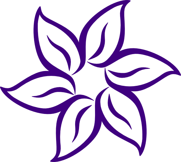 Purple flower border clip. Lavender clipart lavender floral