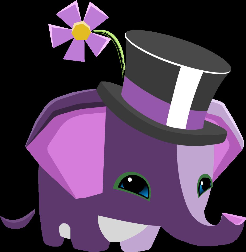 Image pet png animal. Lavender clipart elephant