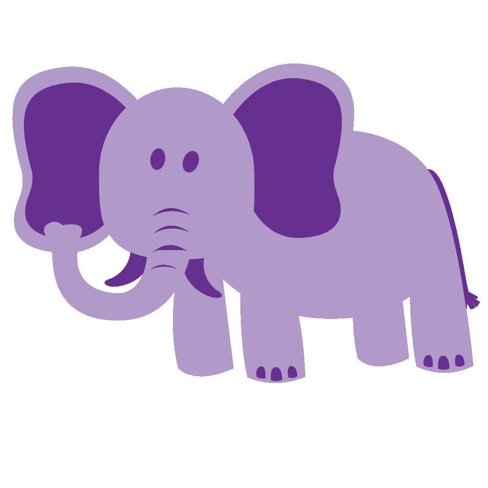 Clipartist net clip art. Lavender clipart elephant