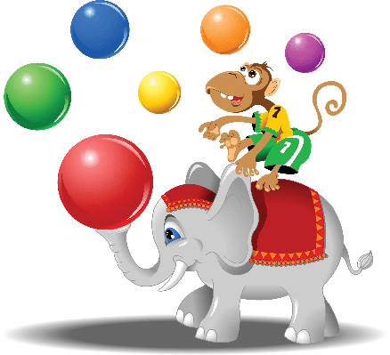 Monkey clipart elephant. And pbs learningmedia