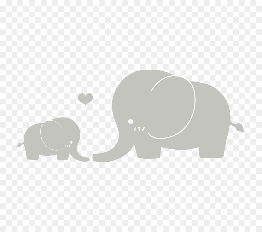 Clipart elephant mother. Free mom and baby