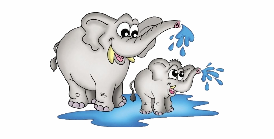 Baby cartoon picture images. Clipart elephant mother