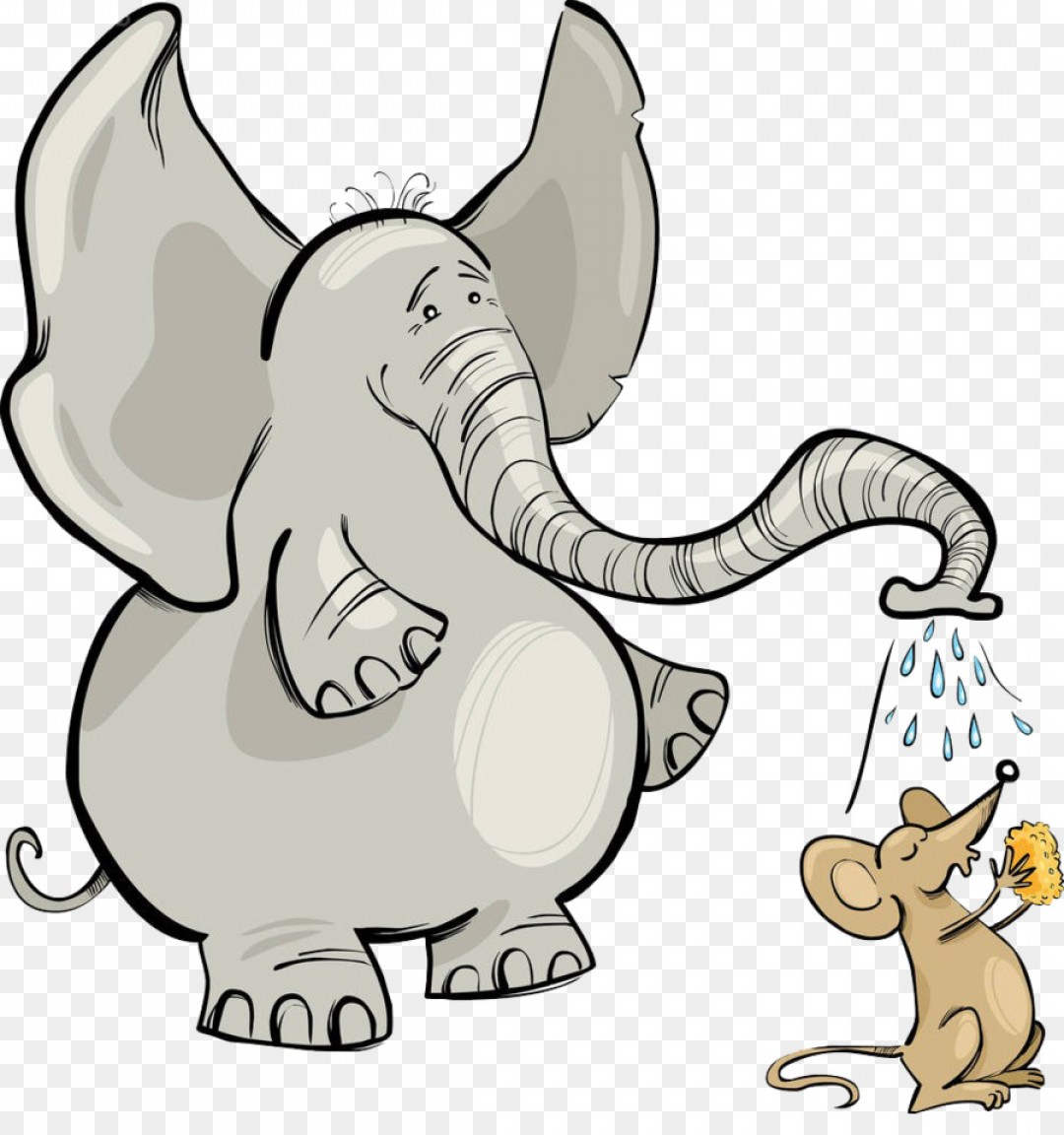 Png and clip art. Clipart elephant mouse