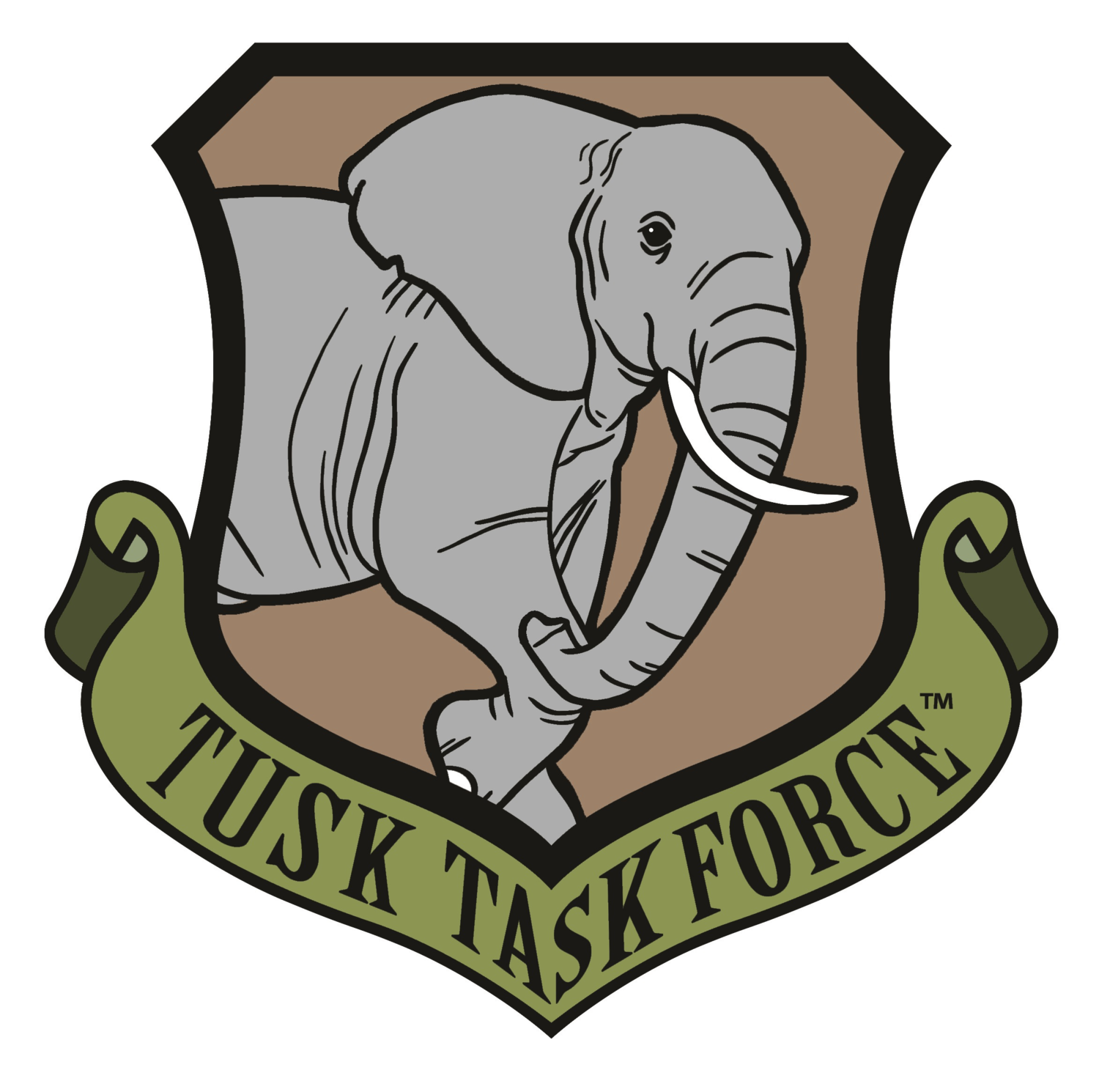 Why we defend tusk. Horn clipart elephant