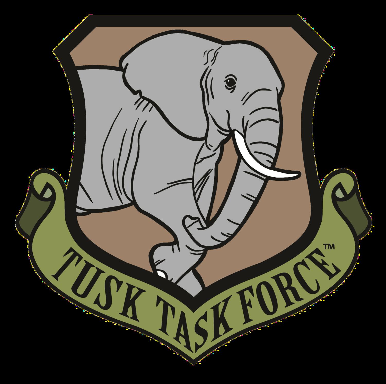 Why we defend tusk. Clipart elephant plain