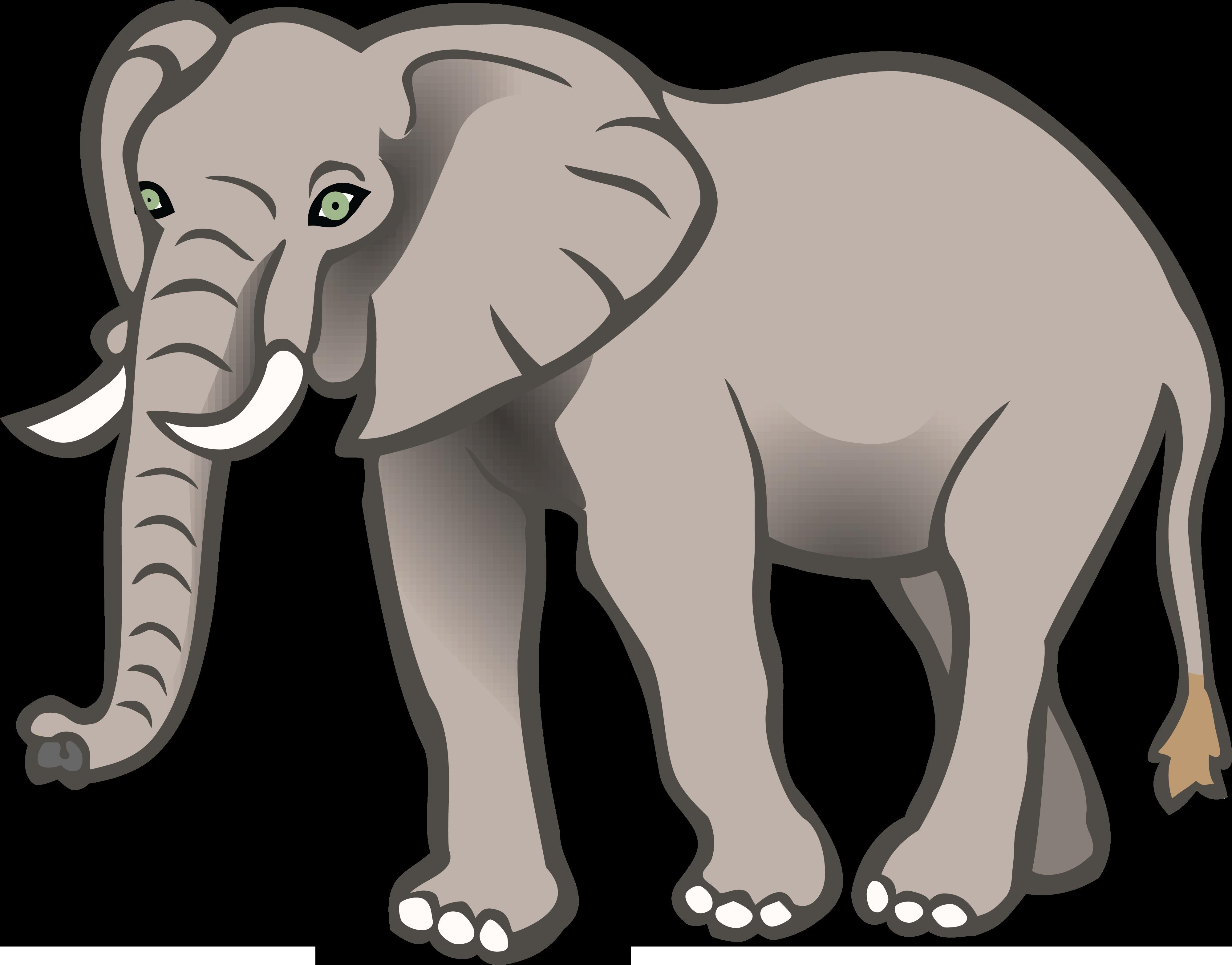 Clipart elephant printable, Clipart elephant printable ...