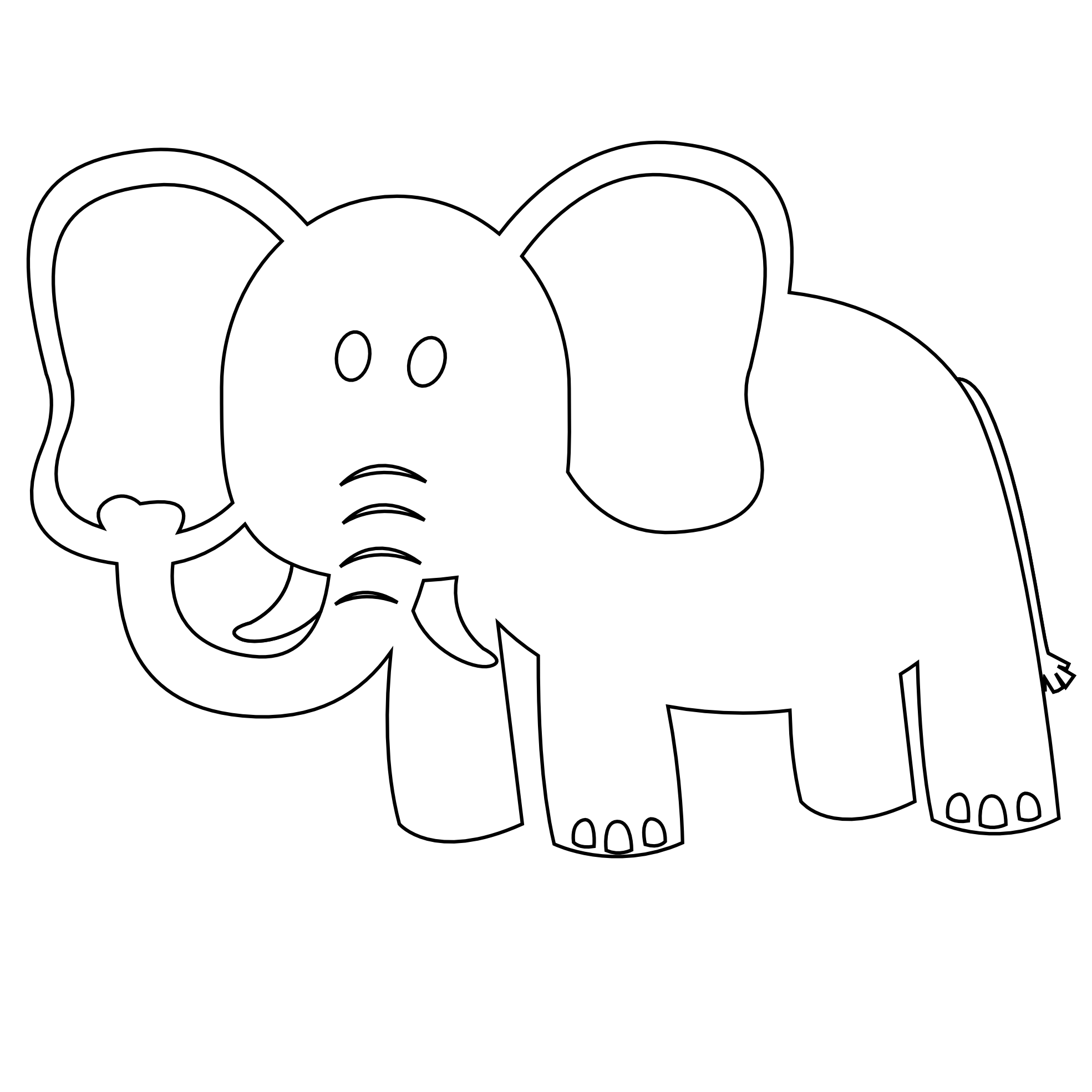 Stuffed animal pencil and. Clipart elephant puzzle