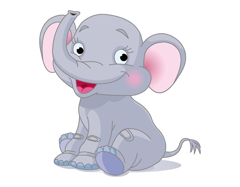 Mice clipart elephant. Cartoon drawing clip art
