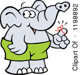 Elephants clipart reminder. Elephant panda free images