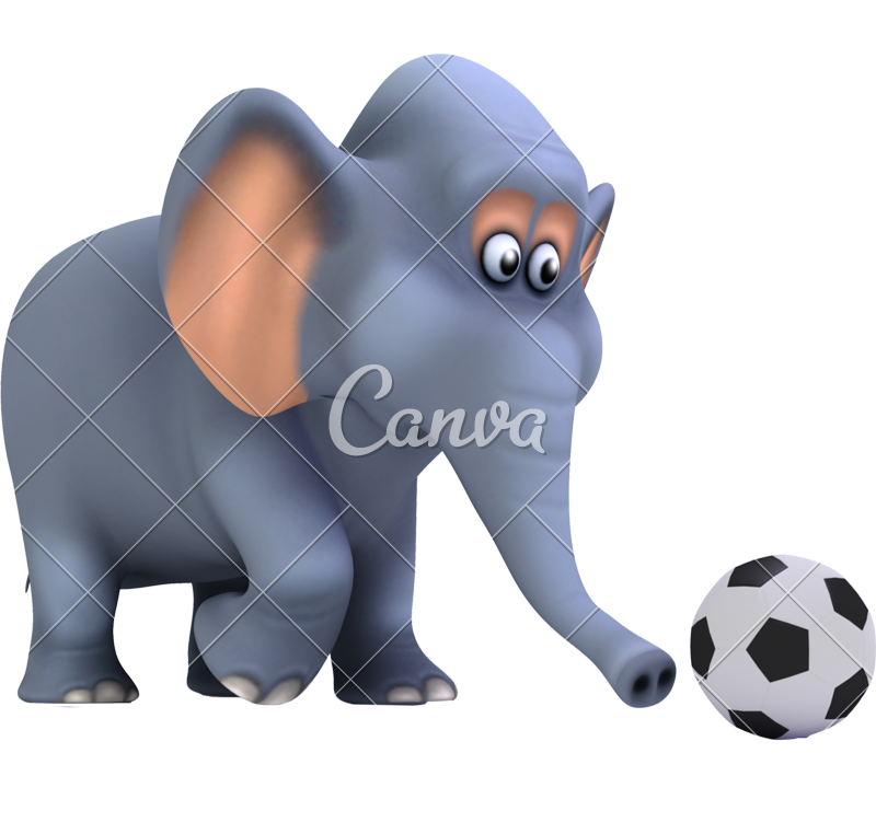 d football photos. Clipart elephant soccer