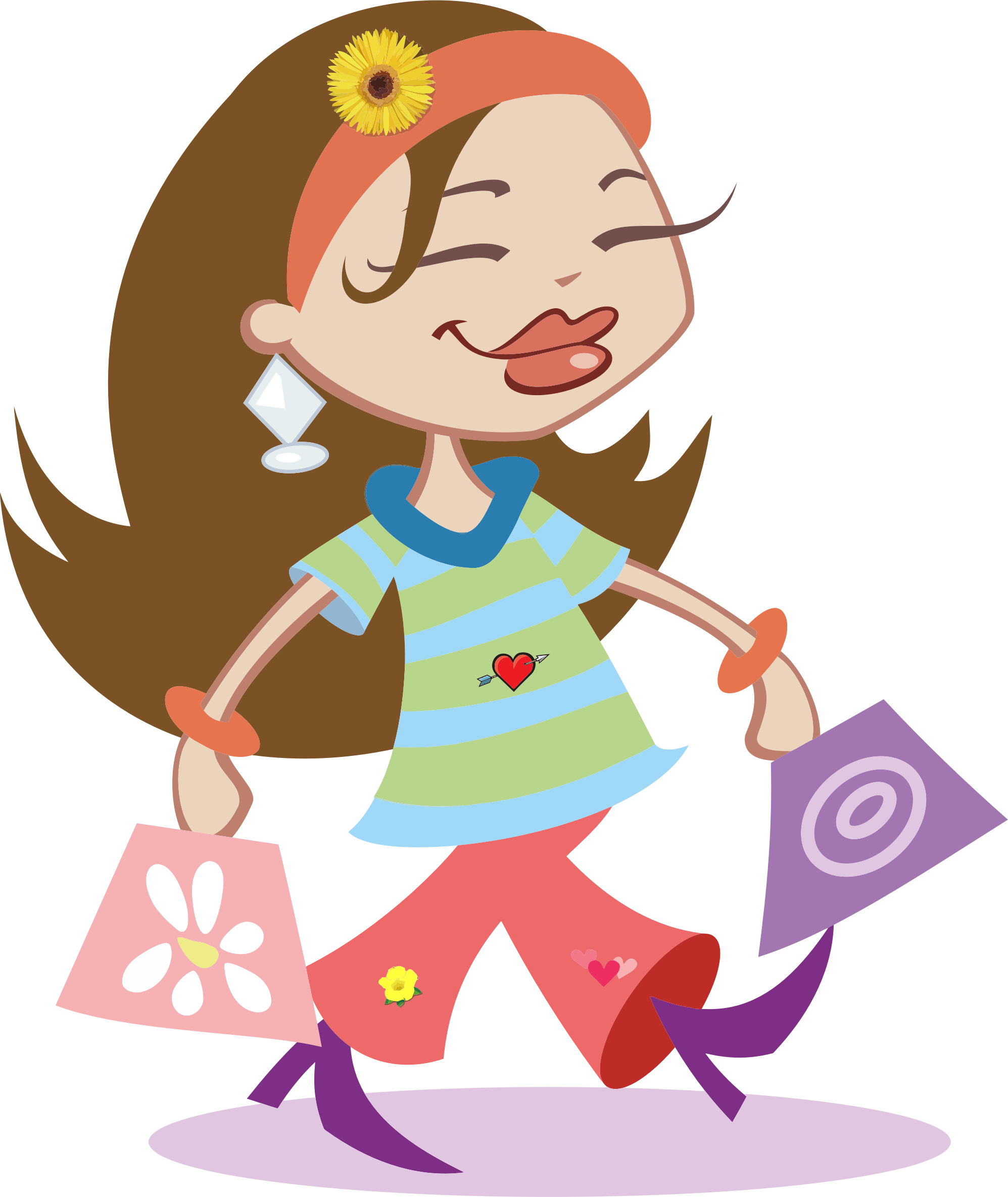 Young clipart happy kid. Amitravel shopping