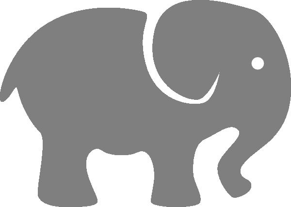 Clipart elephant stencil. Free download clip art