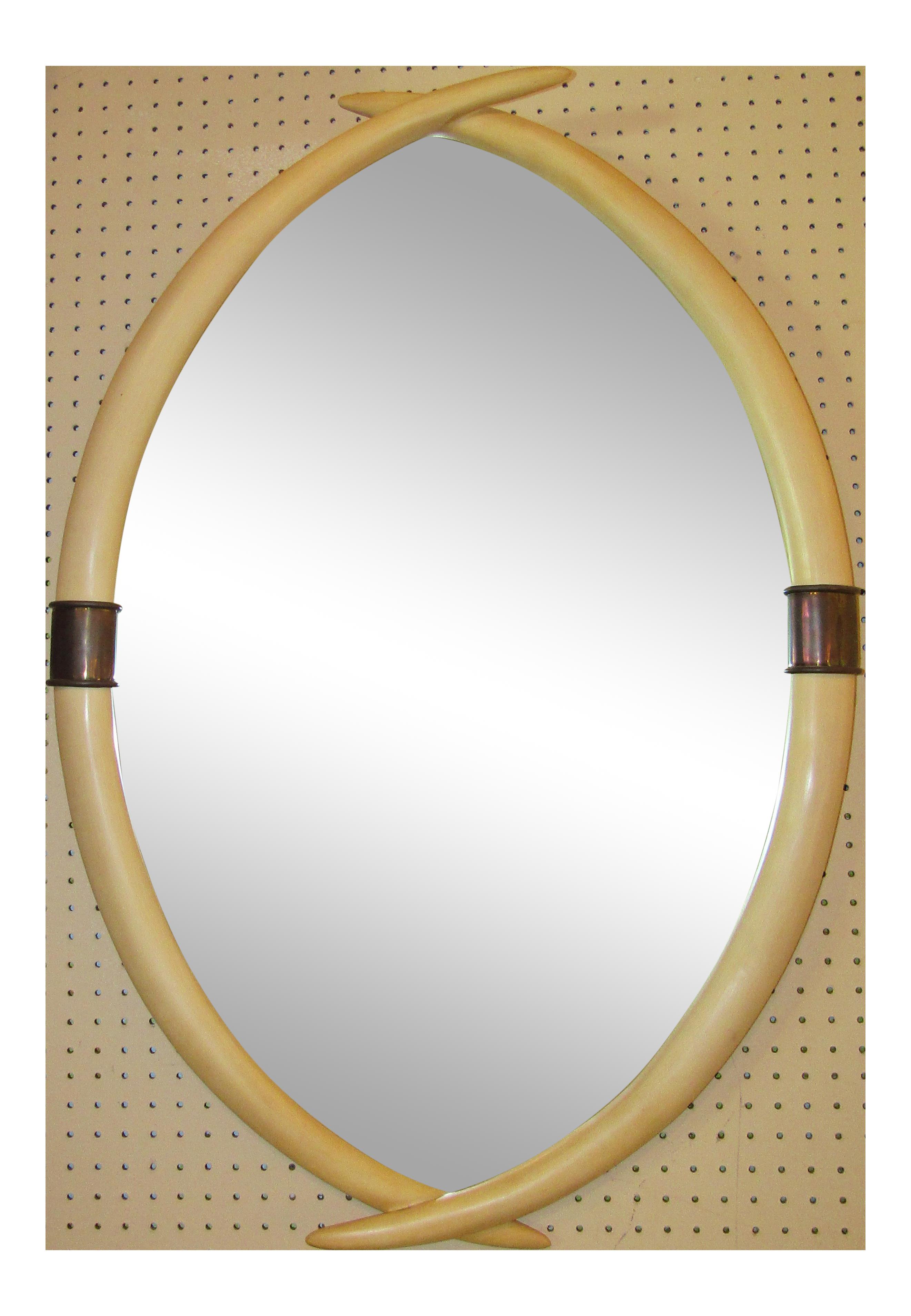 Chapman hollywood regency brass. Mirror clipart bathroom mirror