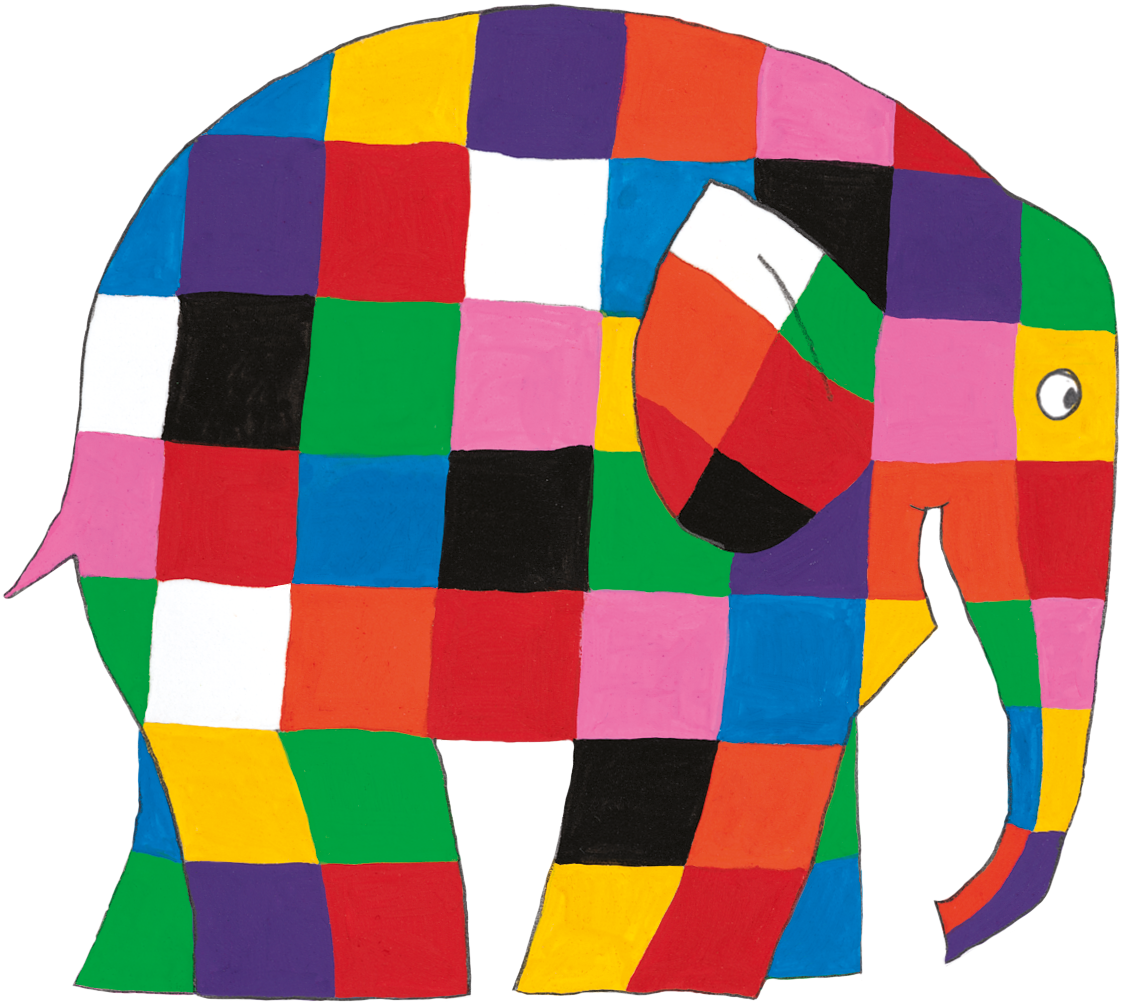 Clipart elephant tired. Elmer the google search