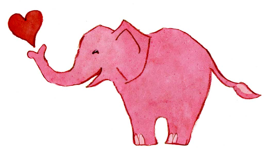 Free valentine cliparts download. Clipart elephant valentines day