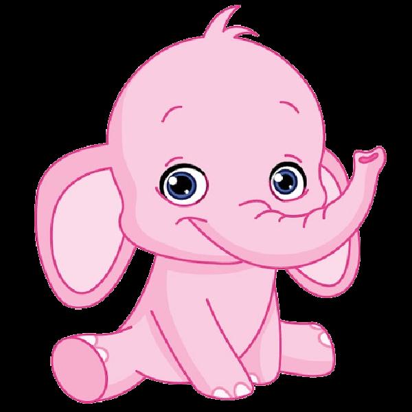 Baby elephant elephants clip. Raffle clipart cute