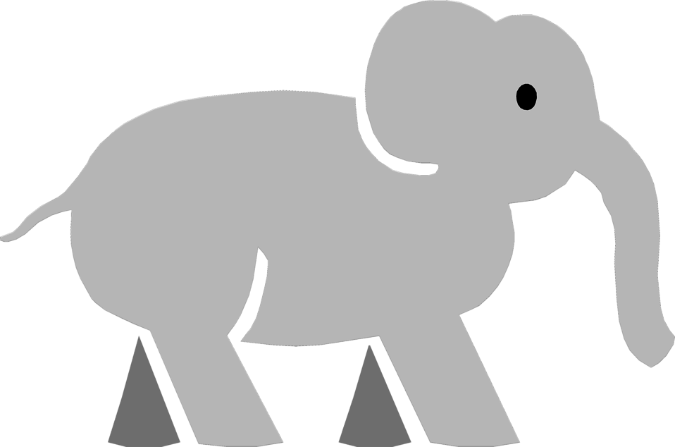 Picture of a cartoon. Clipart elephant wallpaper