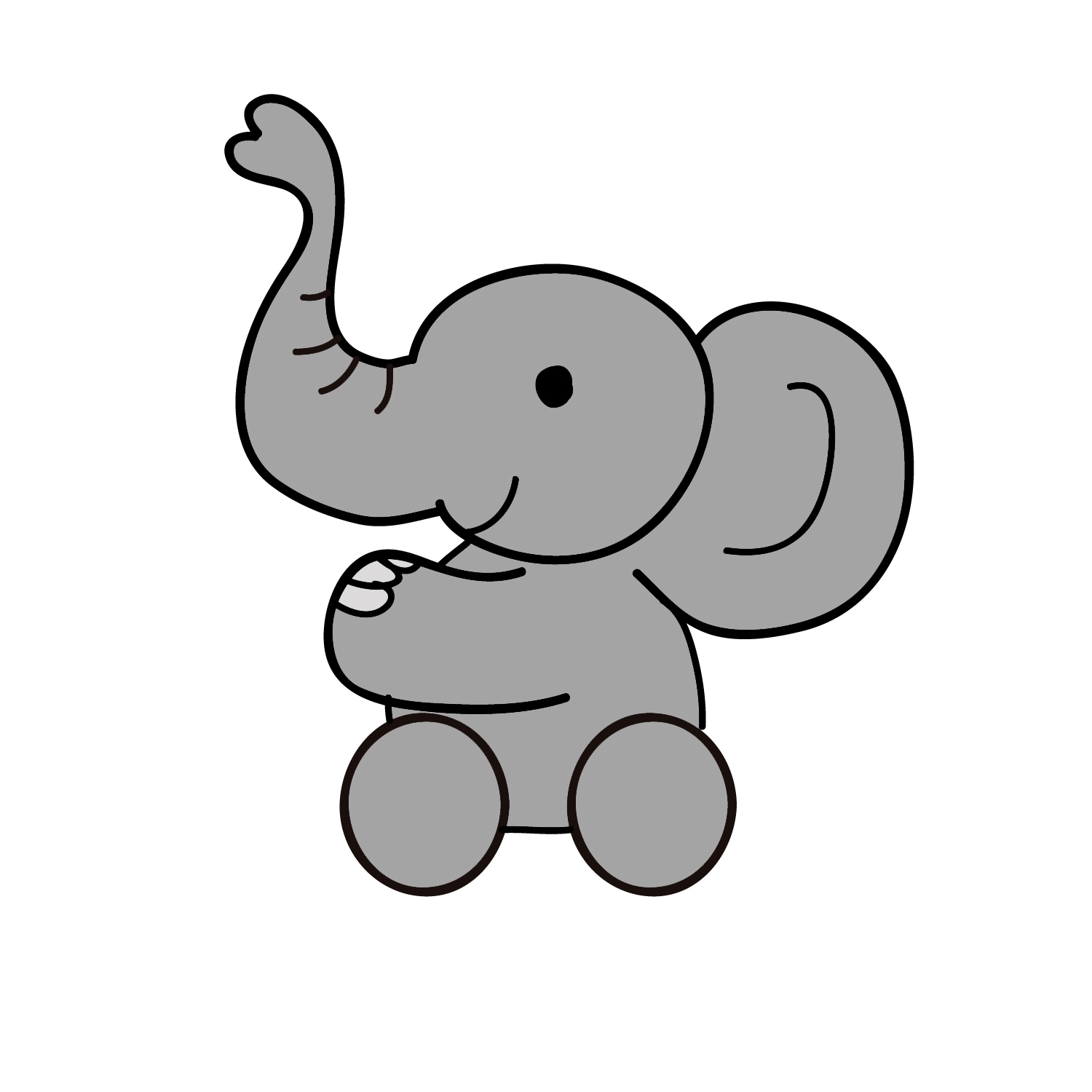Clipart elephant wallpaper. Free cartoons pictures download