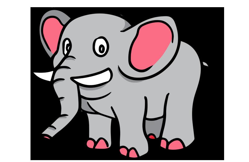 Free cartoon clip art. Clipart elephant wedding