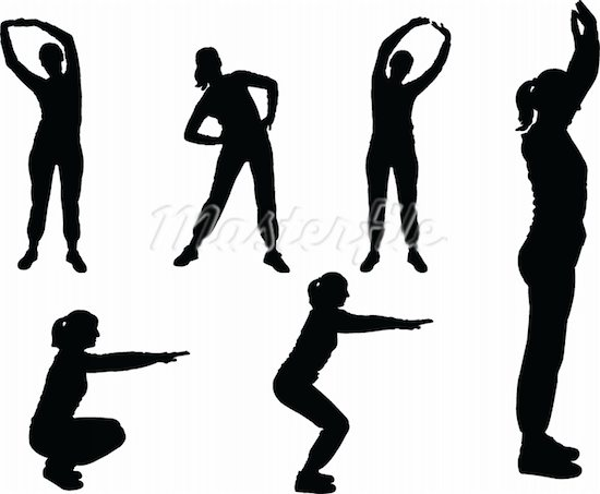 Exercising clipart aerobic. Exercise download free clip