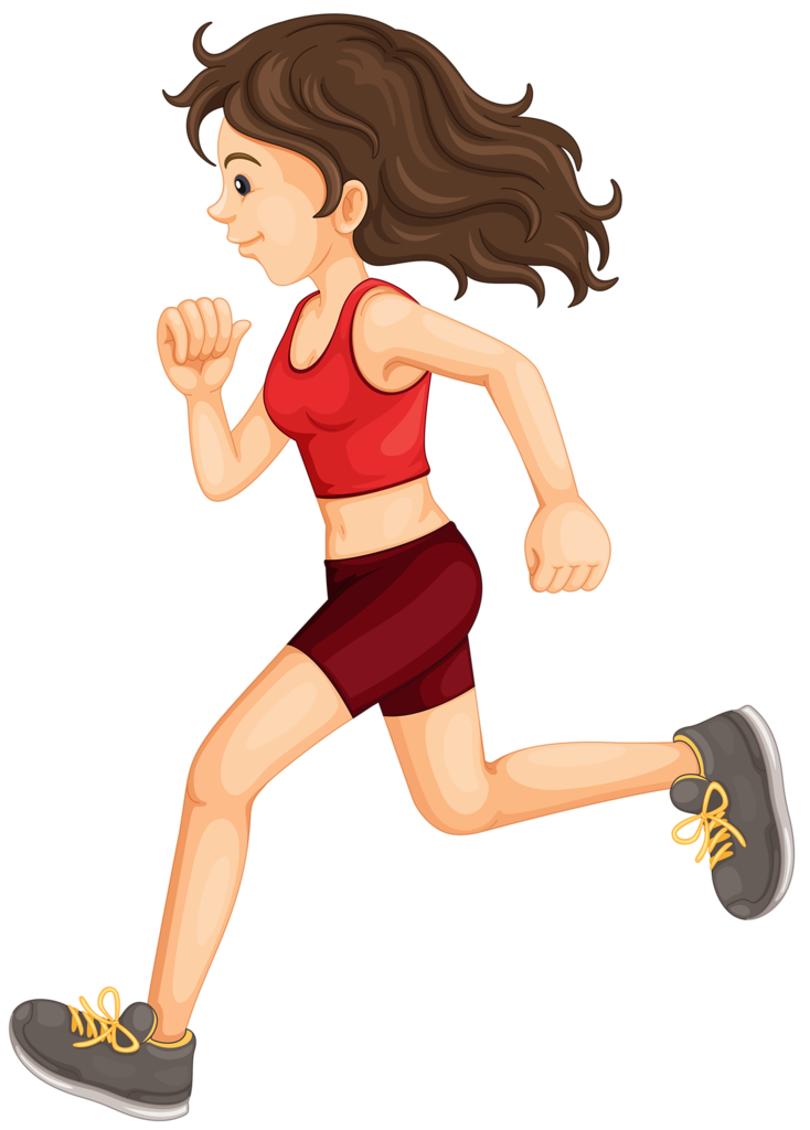 Profiss es e of. Exercising clipart runner