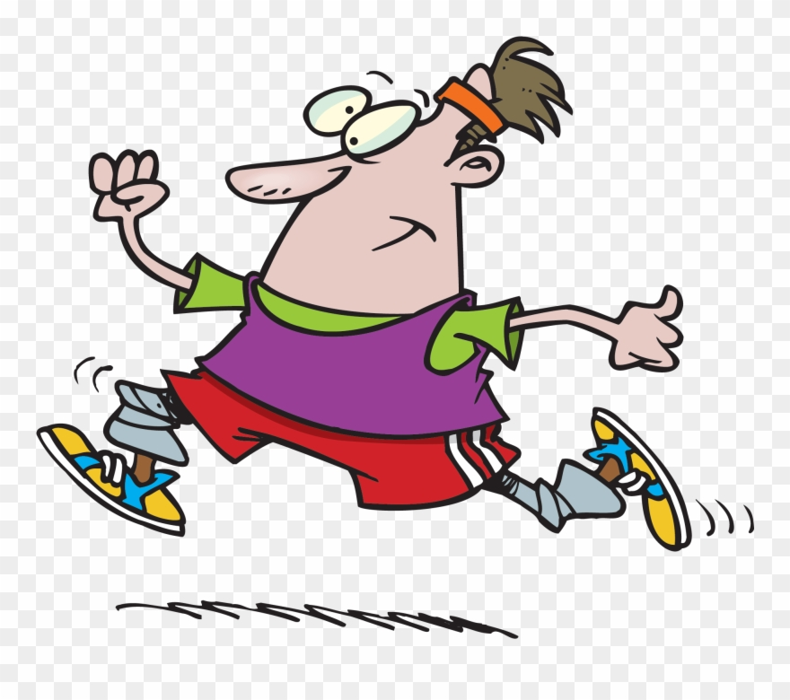 Clipart exercise animated. Funny cartoon pinclipart
