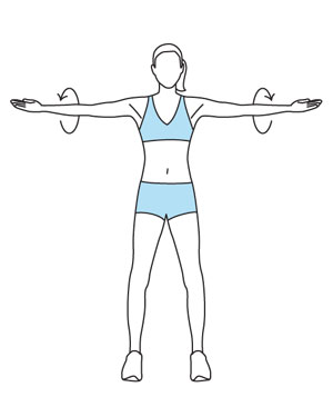 Exercising clipart arm circle. Free cliparts arms fitness