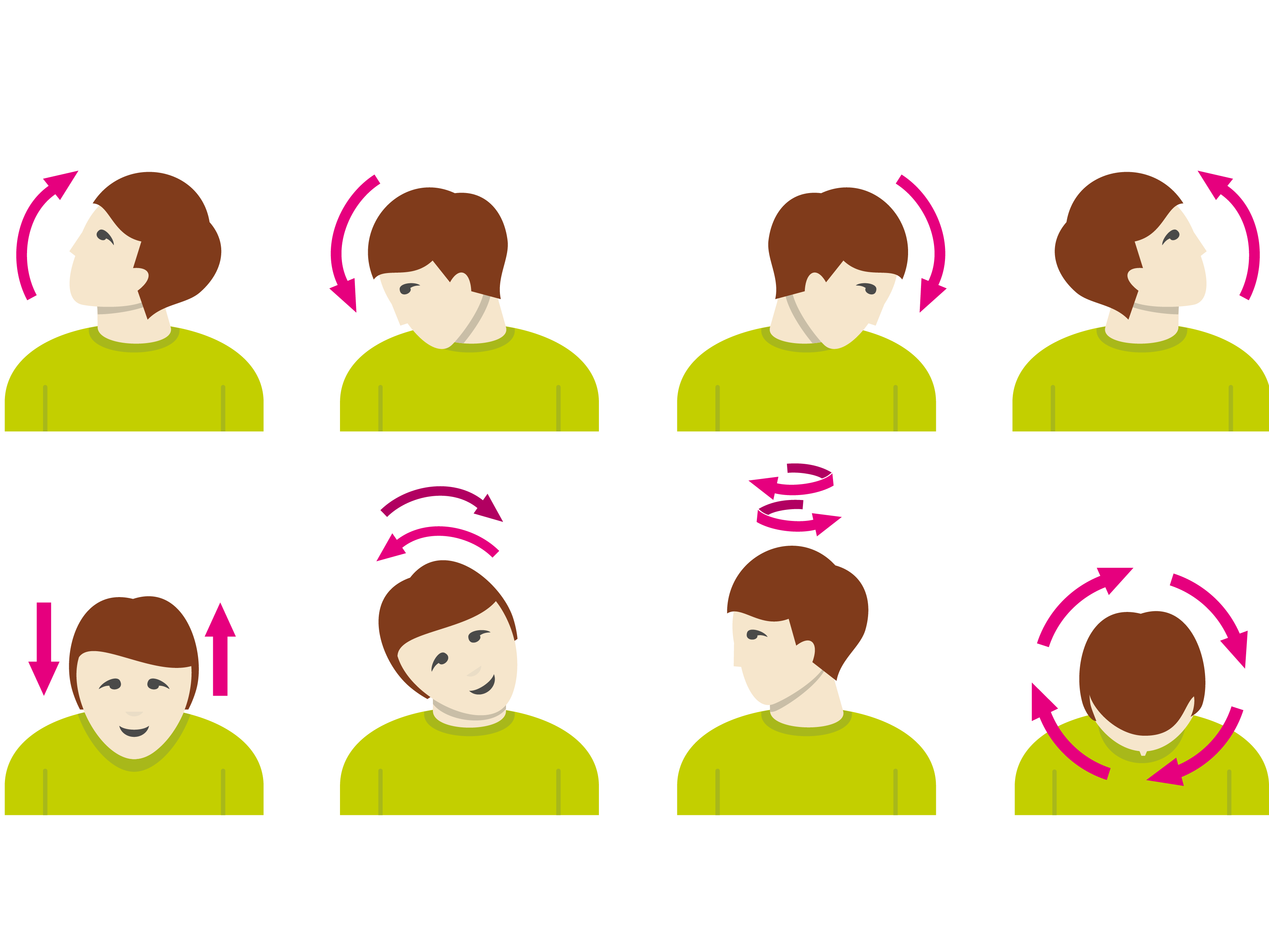 Exercise clipart light exercise. Physical neck stretching nuchal