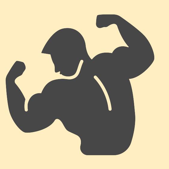 Weight clipart exercise plan.  killer bodyweight back