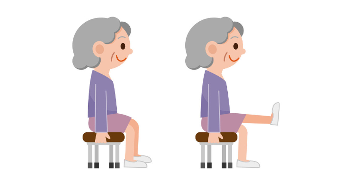 Video easy effective minute. Exercise clipart chair exercise