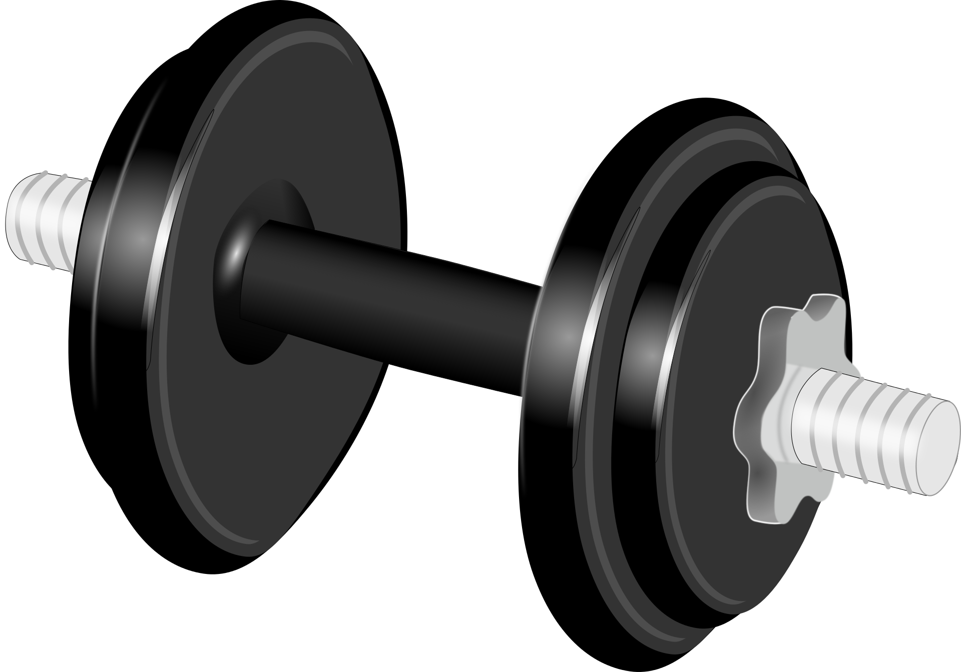 Exercise clipart sport training. Dumbbell weight clip art