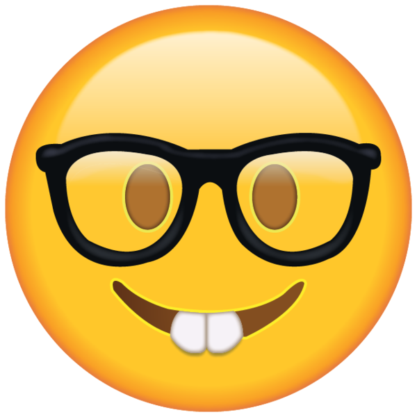 Waves clipart emoji. Show off your nerdy