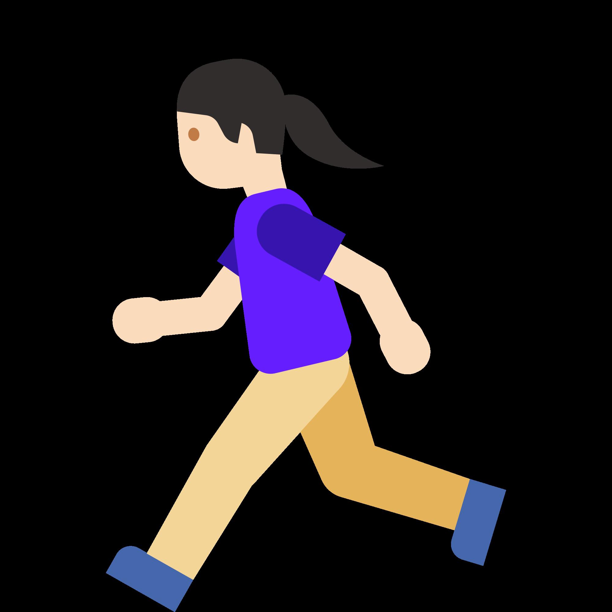 Emoji clipart exercise. File u f c