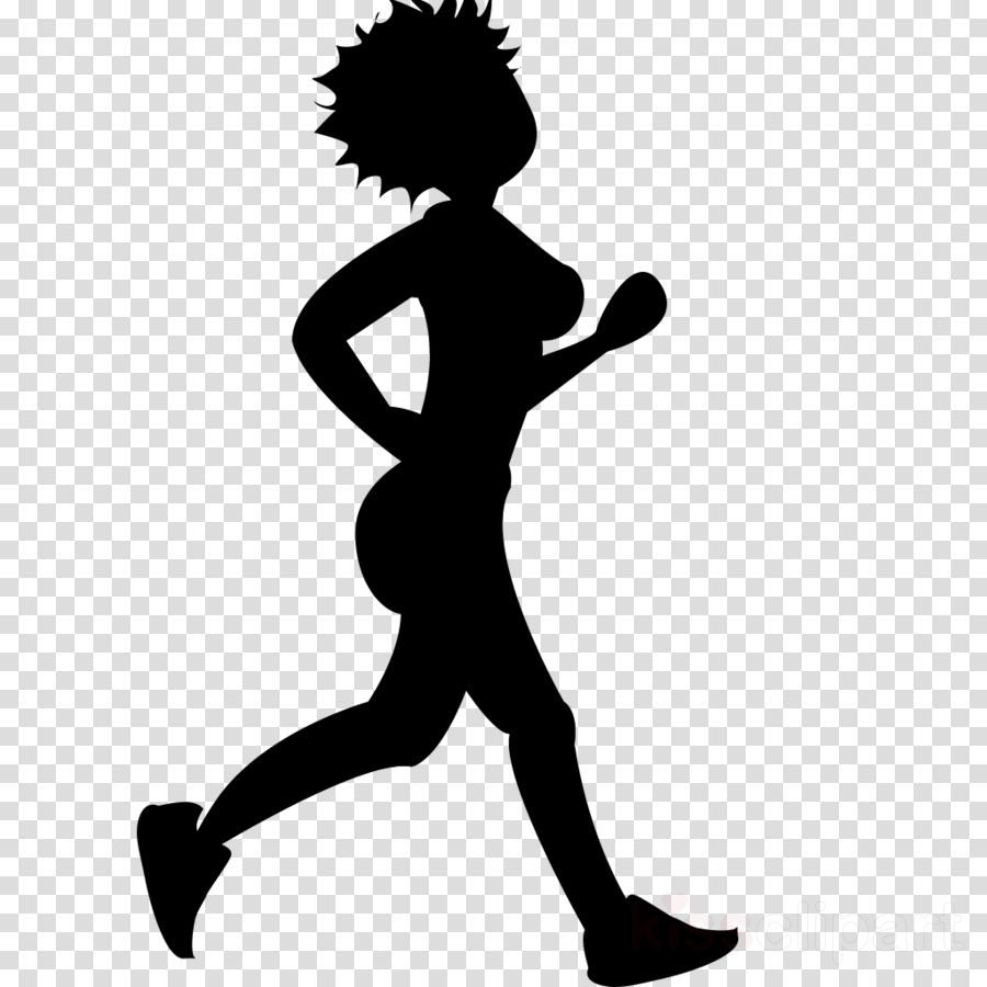 Silhouette . Emoji clipart exercise