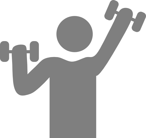 Exercise clipart icon. Clip art at clker