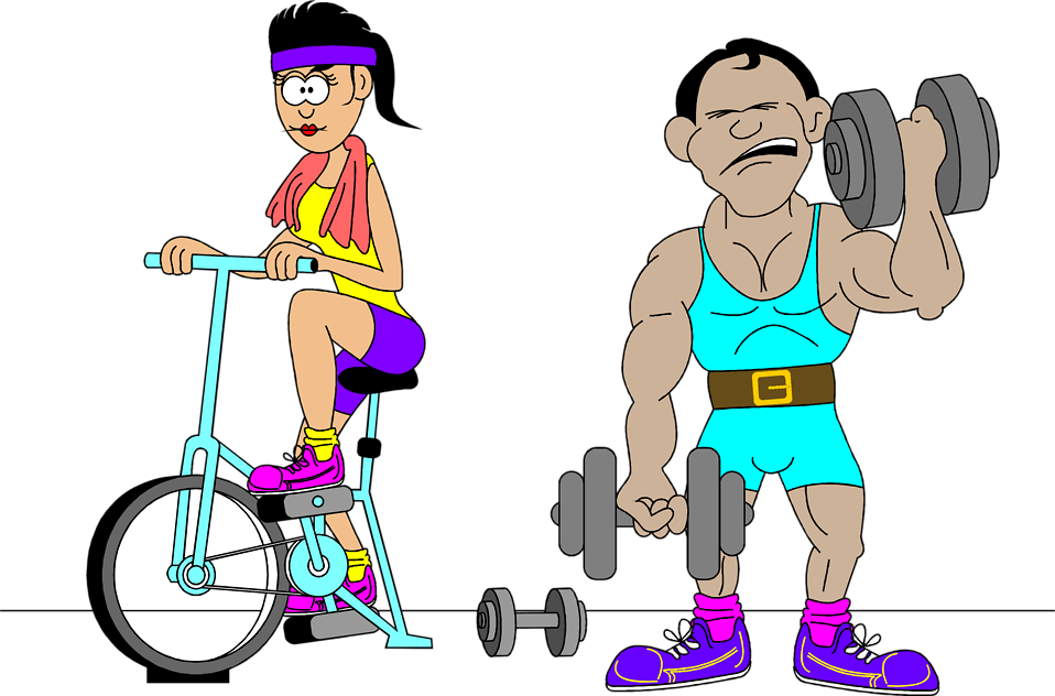How often do you. Clipart exercise excersie