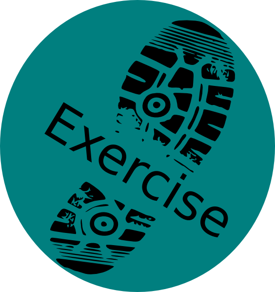 Clip art at clker. Exercise clipart execise